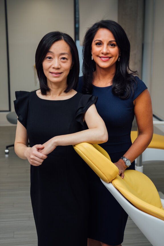 Dr. Shafeena Chatur and Dr. Wei Tian